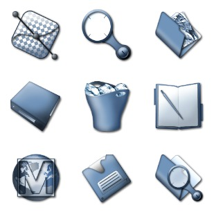 Slate icon sets preview