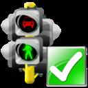 Lights, Ok, Traffic icon