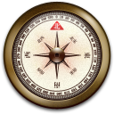 Compass, Correction, Iphone icon