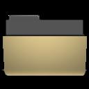 manilla, open, folder icon