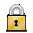 closed, lock icon