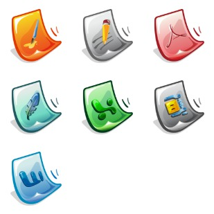 Software Files icon sets preview
