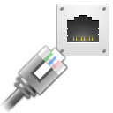 lan, wired, network icon