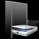 scanner, photography, camera, folder icon