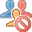 remove, account, delete, user, profile, human, del, people icon