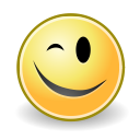 wink, face icon