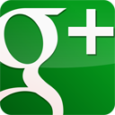 googleplus, green, gloss icon