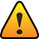 warning, notification, danger, alert icon
