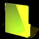 yellow,closed,folder icon