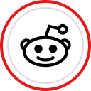 social, reddit, logo, media, brand icon