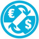 d, mb, e, currency icon