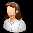 Female, Light, Technicalsupportrepresentative icon