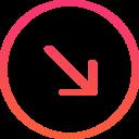 SE arrow icon