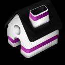 Home Purple icon