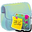 note, folder icon