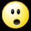 gnome, face, surprise, 64 icon