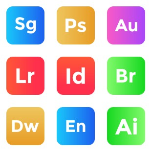 Adobe vol 9 icon sets preview