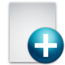 document, paper, new, file icon