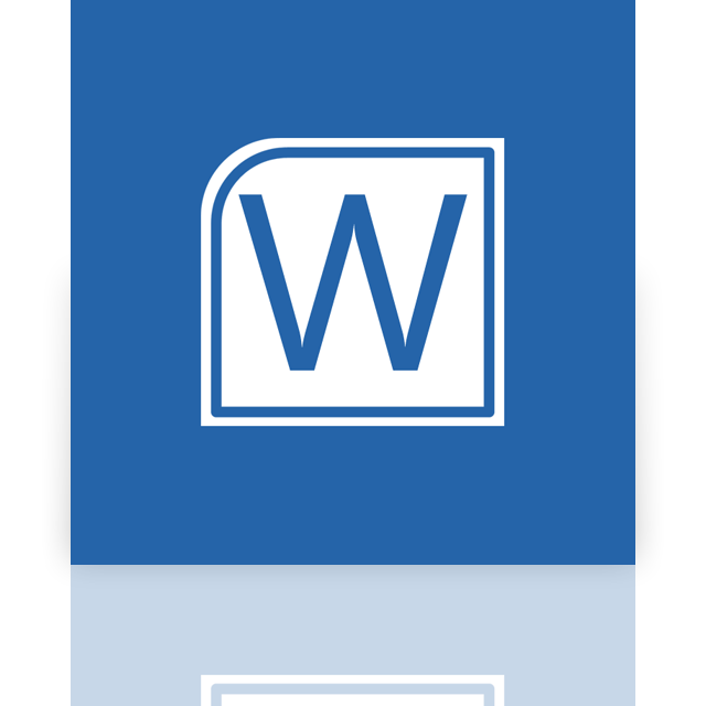 alt, word, mirror icon