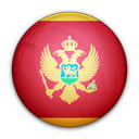 montenegro, of, flag icon