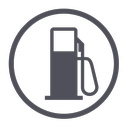 gasoline, station, fuel, oil, gas icon