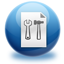 configuration, extension, file icon