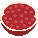 garnet, fruit icon
