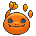 charmander, play, game, pokemon, go icon