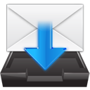 import, envelope, email, inbox, mail icon