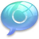 connect4 Light Blue icon