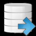 database arrow right icon