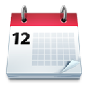 Calendar, Mobile icon