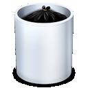garbage, recycle bin, dock, trash, full icon