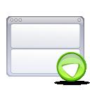 view, bottom icon