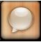 message, alt icon
