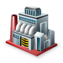 manufacturer, production, factory, industry icon