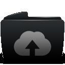 folder, web, upload icon