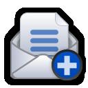 Mail, Write icon