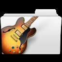 guitar, jazz, folder, music, garage band, bass, garageband, musicworld icon