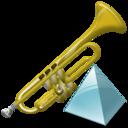 Level, Trumpet icon
