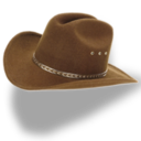 hat,cowboy,brown icon