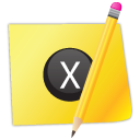 Close, Edit, Note icon