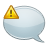 comment,warning,alert icon