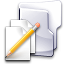 documents, write, pen, folder icon