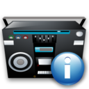 about, info, tape, information, recoder icon