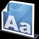 Font, Type icon