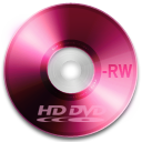 hd, disc, rw, dvd icon