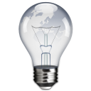 lightbulb, power, idea icon