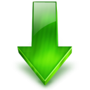 Arrow, Down icon