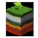 layer,grass icon
